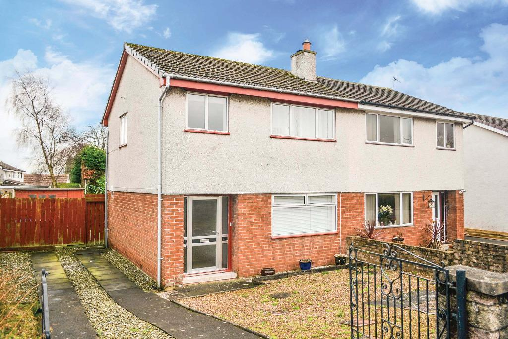 3 Bedrooms Semi Detached House for sale in Quarryknowe, Bannockburn, Stirling, FK7 8NY