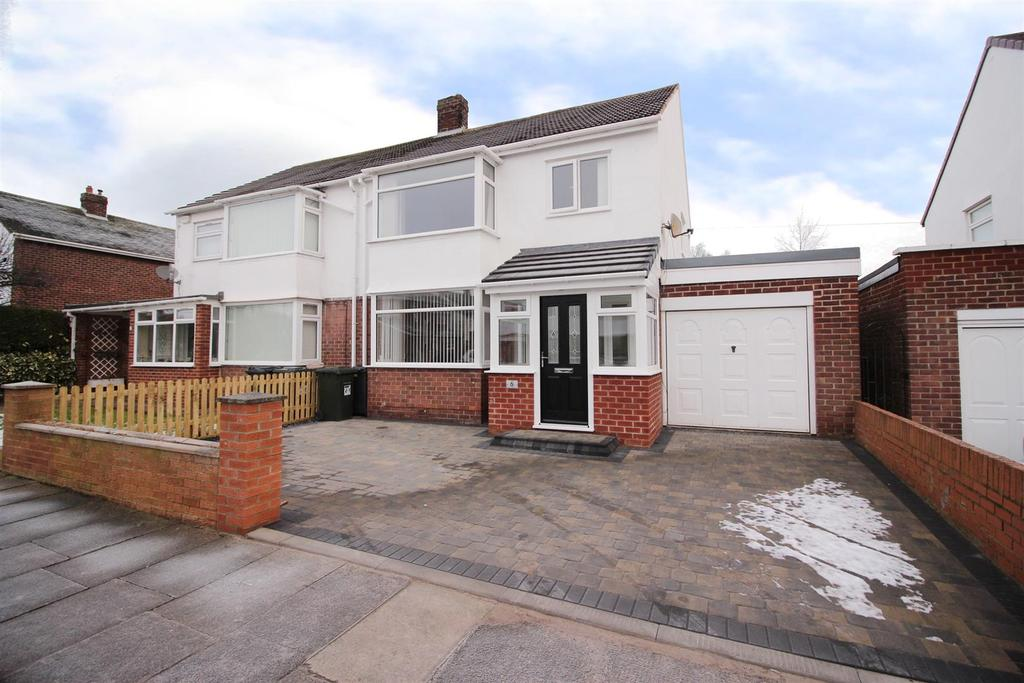 3 Bedrooms Semi Detached House for sale in Thorneyfield Drive, Newcastle Upon Tyne