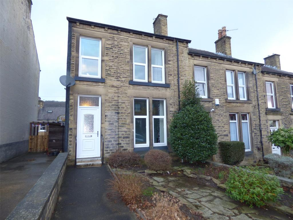 3 Bedrooms End Of Terrace House for sale in Storths Road, Huddersfield, West Yorkshire, HD2