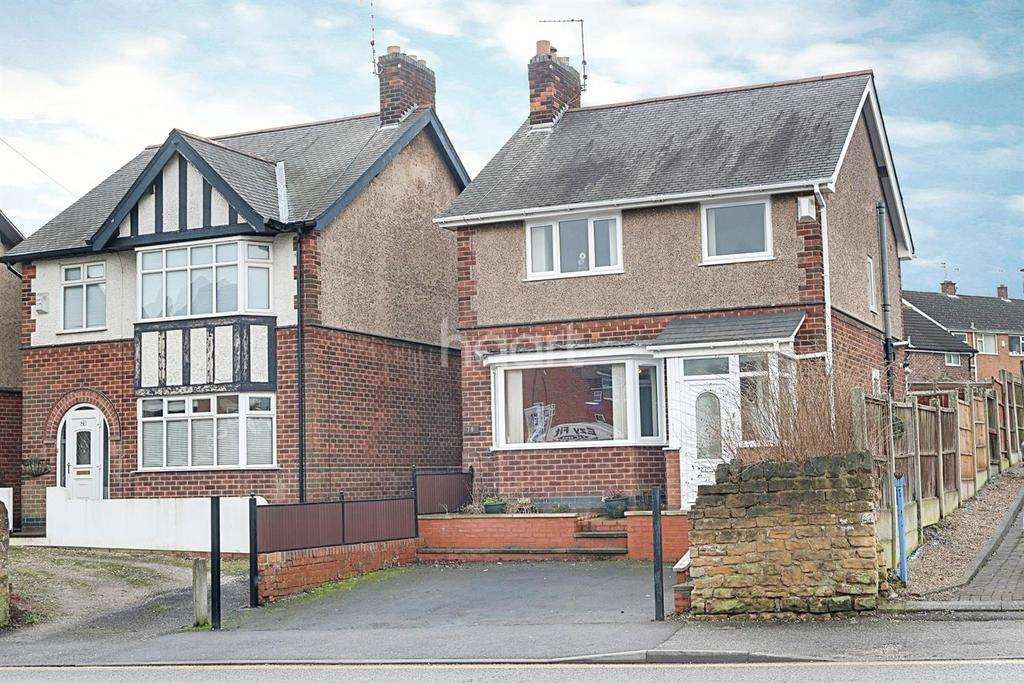 3 Bedrooms Detached House for sale in Portland Road, Hucknall