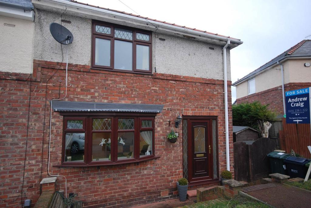 3 Bedrooms Semi Detached House for sale in Stubbs Avenue, Whickham