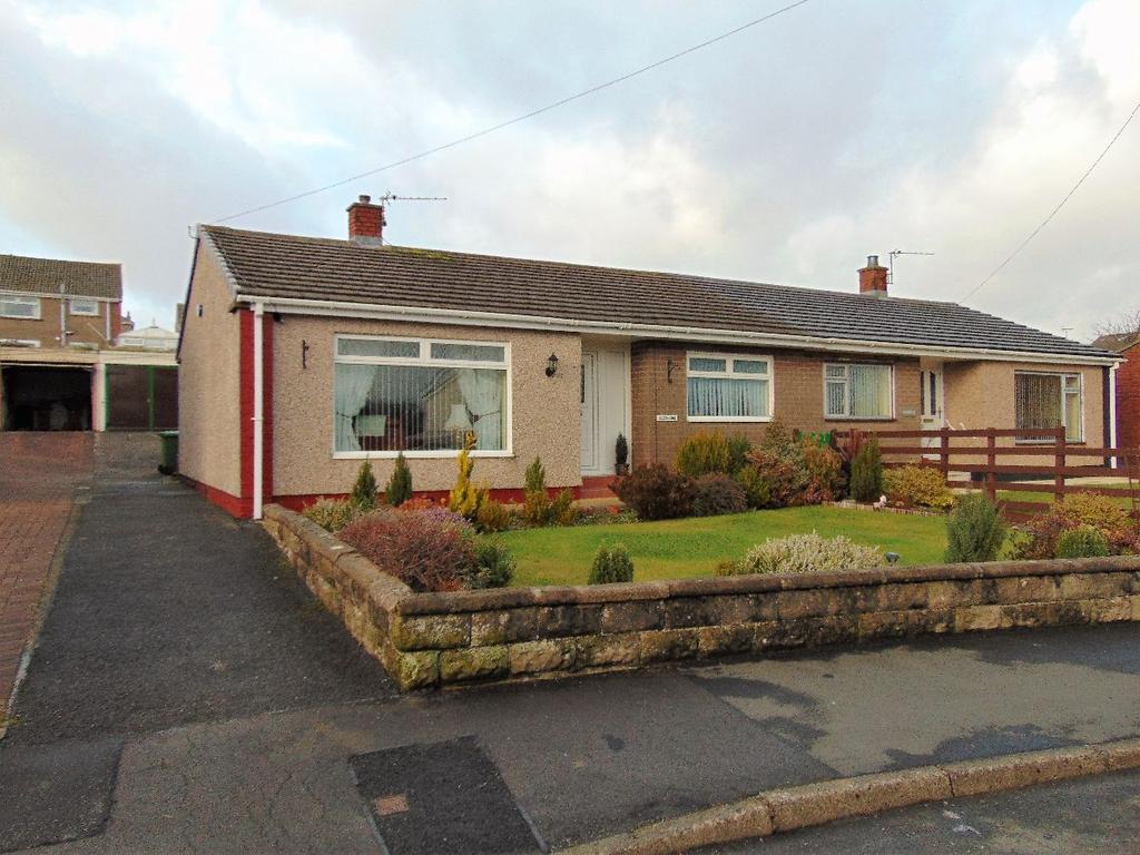 2 Bedrooms Bungalow for sale in 15 Derwent Bank, Seaton, Workington, CA14 1EE