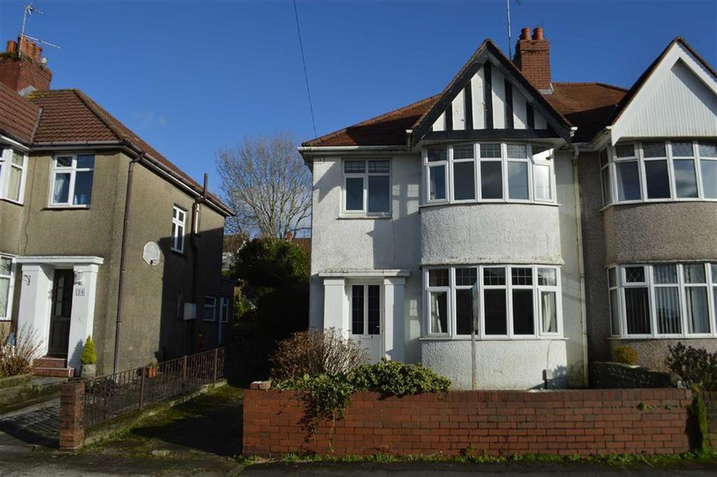 3 Bedrooms Semi Detached House for sale in Raglan Road, Swansea, SA2