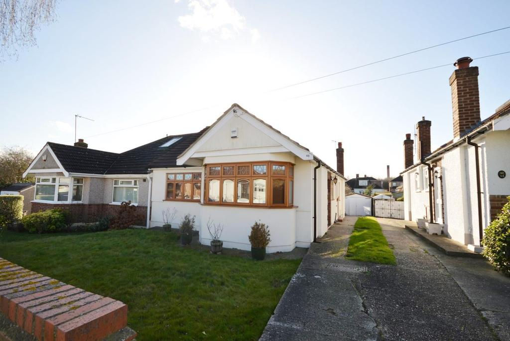 2 Bedrooms Semi Detached Bungalow for sale in Ascot Gardens, Hornchurch, Essex, RM12