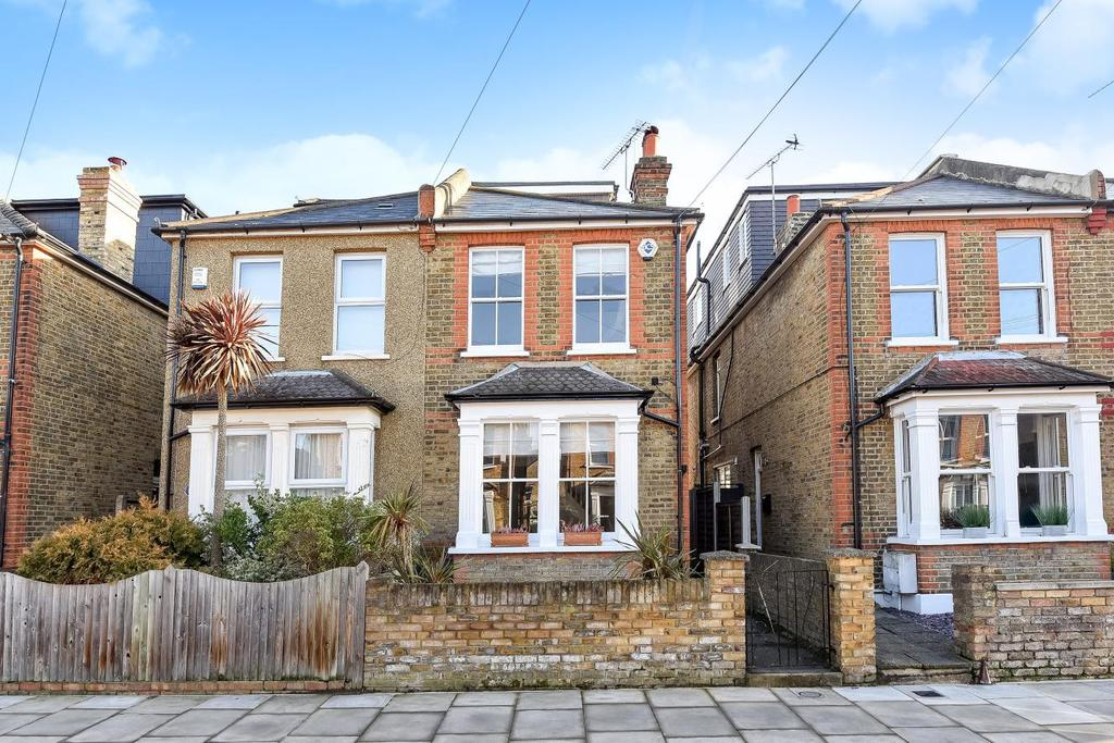 4 Bedrooms Semi Detached House for sale in Dawson Road, Kingston upon Thames