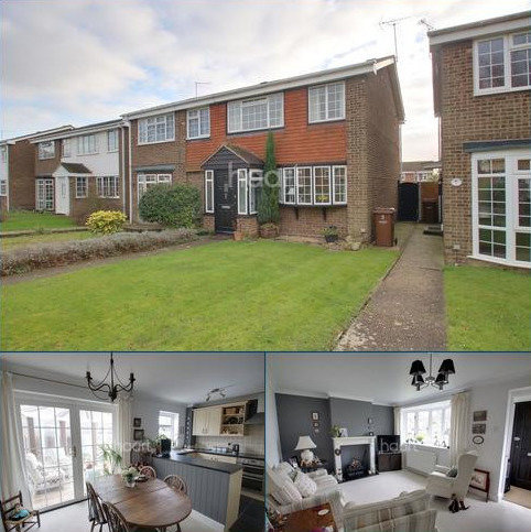 3 bedroom semi-detached house for sale - Herdsdown, Hoo, ME3