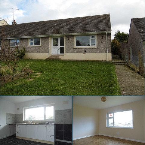2 bedroom semi-detached bungalow to rent - Chapel Road, Dwrbach, Fishguard, Pembrokeshire