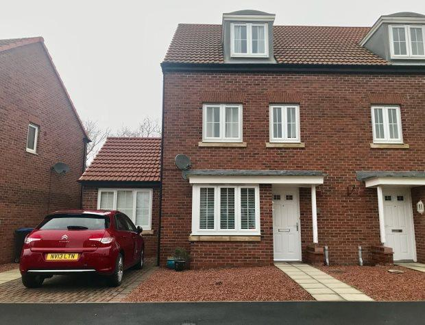 4 Bedrooms Semi Detached House for sale in PROSPECT PLACE, COXHOE, DURHAM CITY : VILLAGES EAST OF