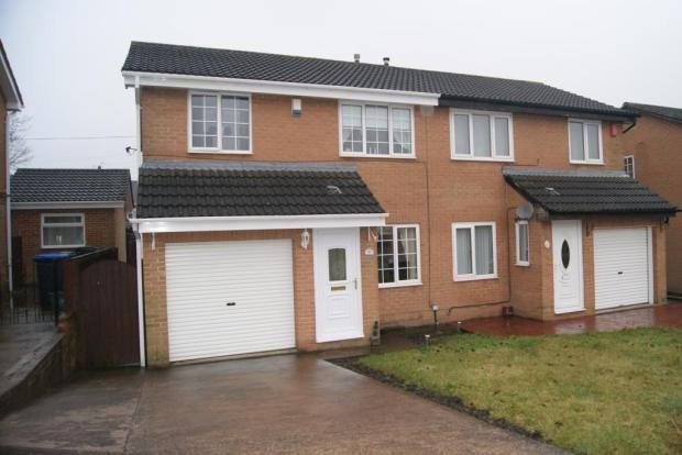 3 Bedrooms Semi Detached House for sale in PETTERSONDALE, COXHOE, DURHAM CITY : VILLAGES EAST OF