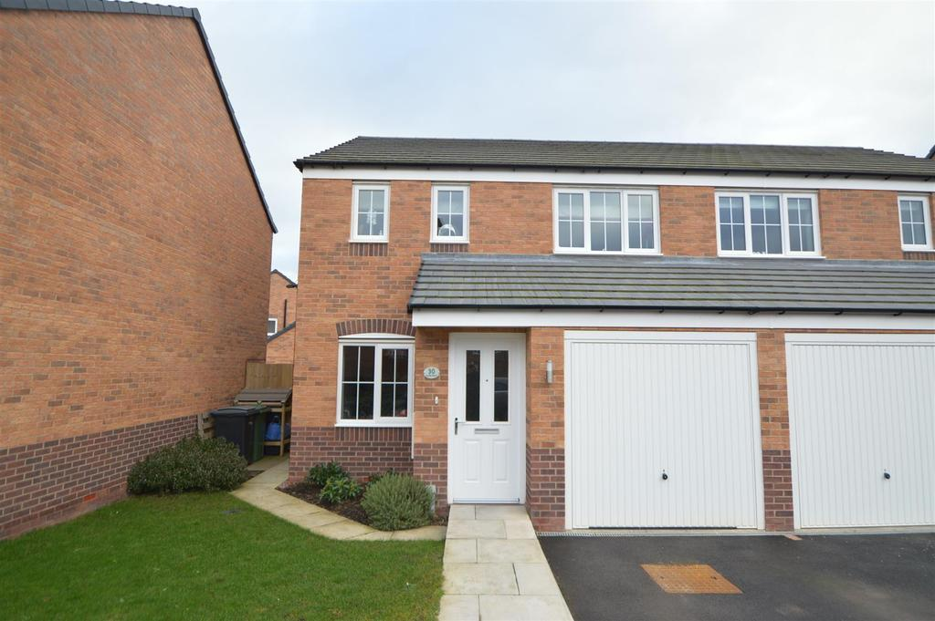 3 Bedrooms Semi Detached House for sale in 30 Rondel Street, Archeryfields Shrewsbury SY1 4FA