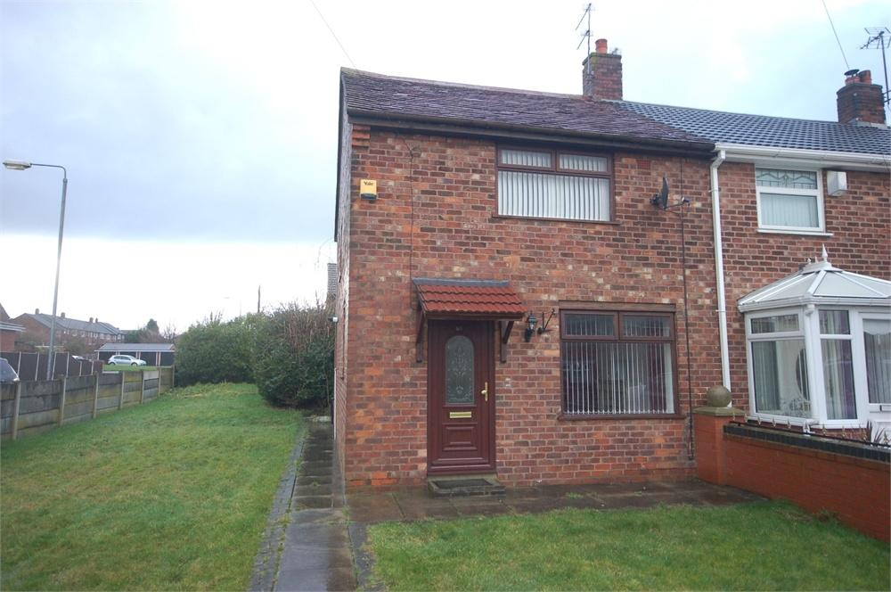 2 Bedrooms End Of Terrace House for sale in Pentland Avenue, off Ashtons Green Drive, ST HELENS, Merseyside
