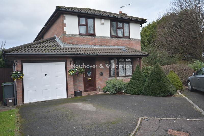 4 Bedrooms Detached House for sale in Cleddau Close, St. Mellons, Cardiff, Cardiff. CF3