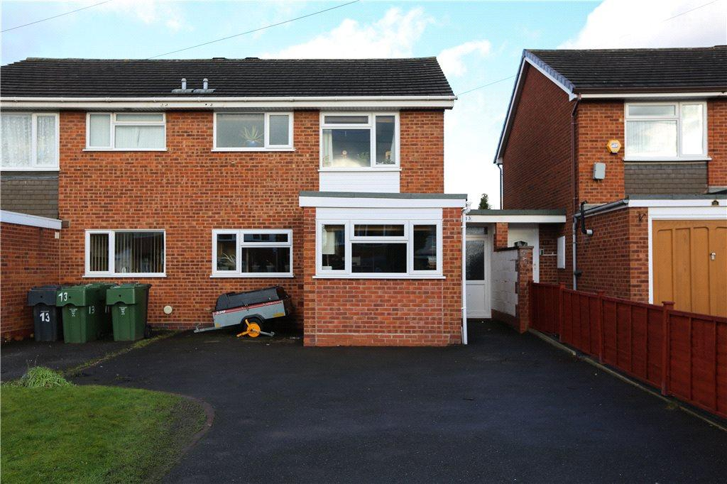 4 Bedrooms Semi Detached House for sale in Providence Road, Bromsgrove, B61