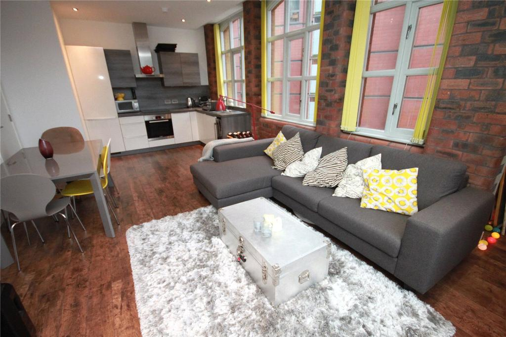 2 Bedrooms Flat for sale in Paragon Mill, Cotton Street, Manchester, Greater Manchester, M4