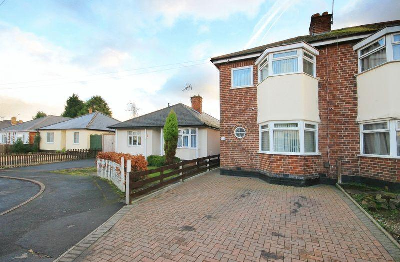 3 Bedrooms Semi Detached House for sale in SUTTON DRIVE, SHELTON LOCK