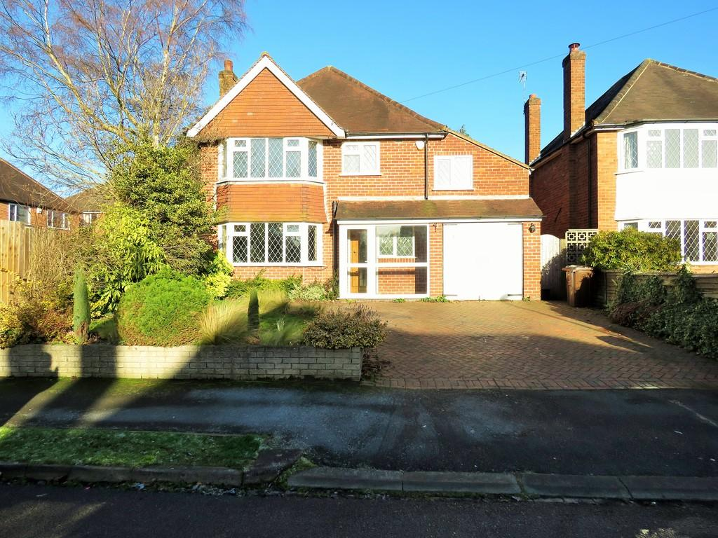 4 Bedrooms Detached House for sale in Hollyfield Avenue, Solihull