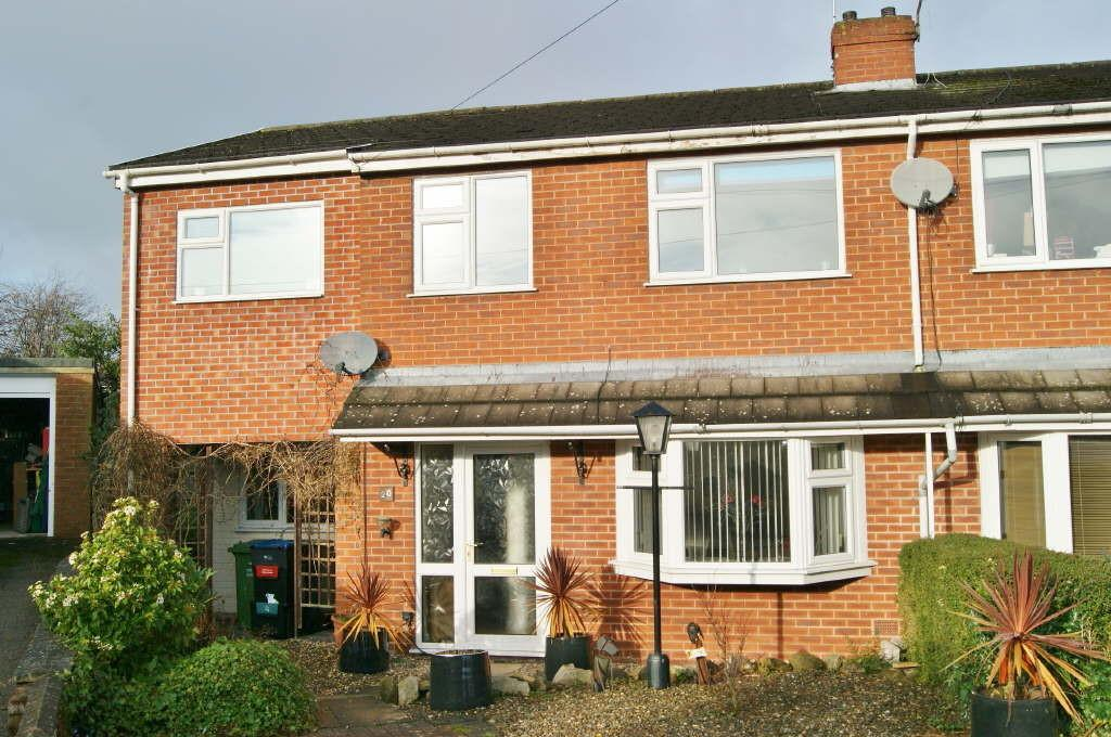 4 Bedrooms Semi Detached House for sale in Cae Glas, Coedpoeth