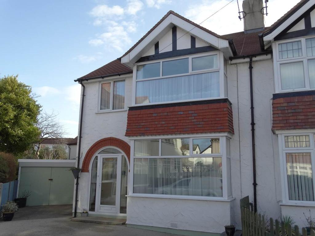 3 Bedrooms Semi Detached House for sale in 5 Bryn Avenue, Rhos on Sea, LL28 4LY