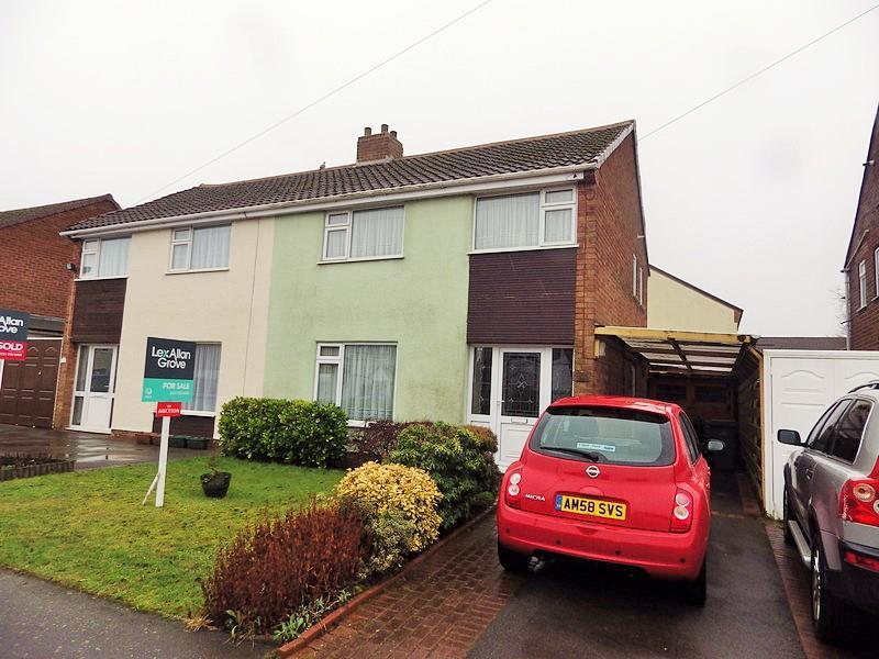 3 Bedrooms Semi Detached House for sale in Leafield Gardens, Halesowen
