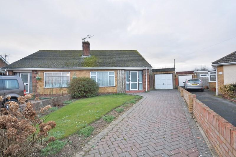 2 Bedrooms Semi Detached Bungalow for sale in Chaucer Avenue, Andover