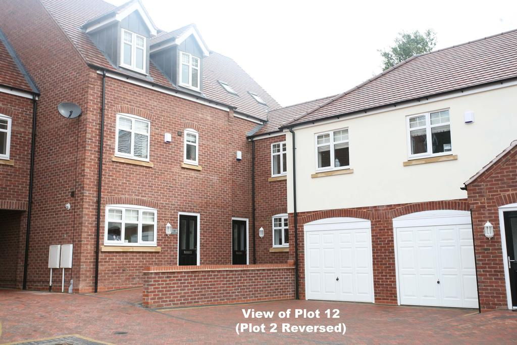 4 Bedrooms Mews House for sale in Plot 2 (The Helmsley) Highfields Gardens, High Mount Street, Hednesford, WS12 4BN