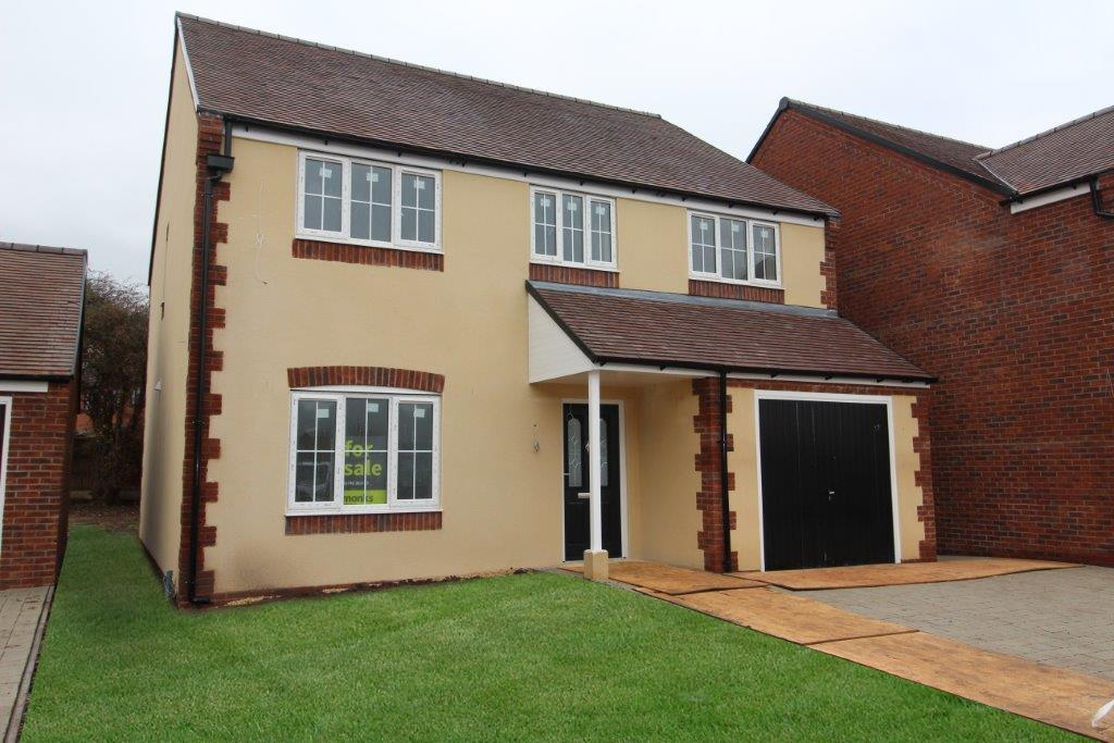 4 Bedrooms Detached House for sale in 4, Bell View, Cross Houses, Shrewsbury