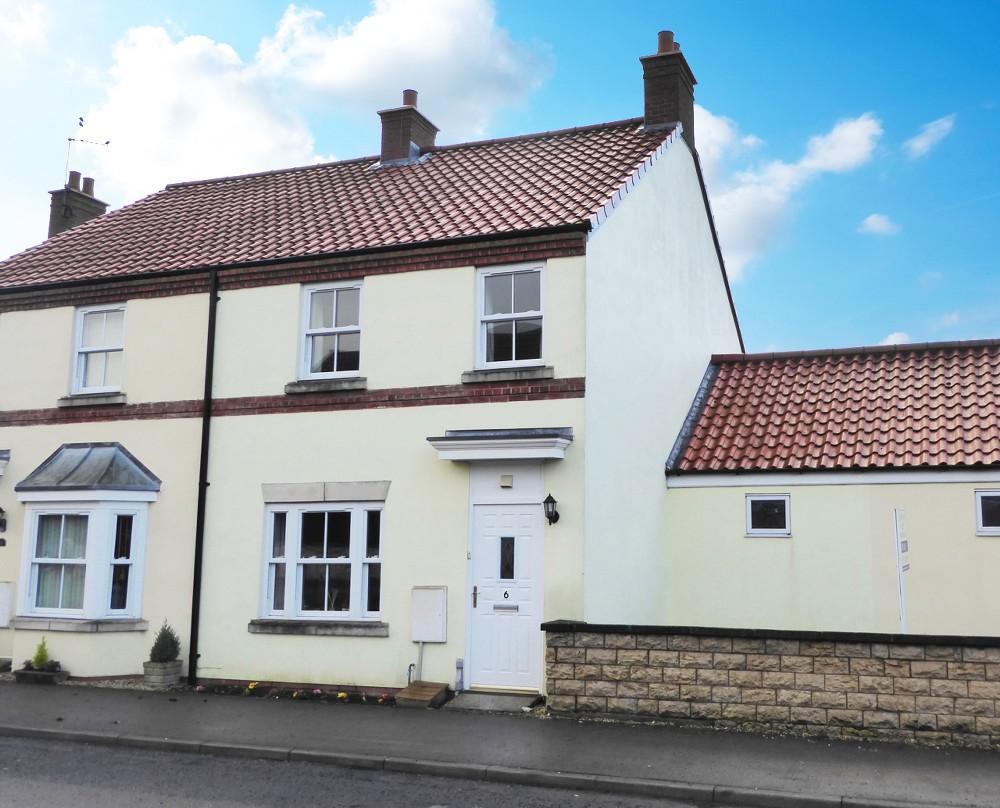 3 Bedrooms Semi Detached House for sale in 6 Westfield Mews, Kirkbymoorside YO62 6BA
