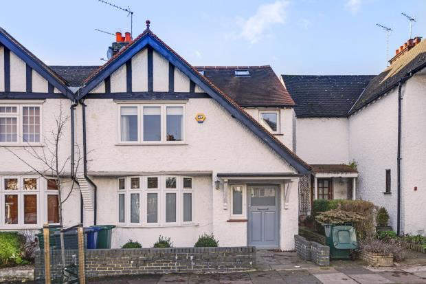 4 Bedrooms Terraced House for sale in Temple Grove, Temple Fortune, London, NW11