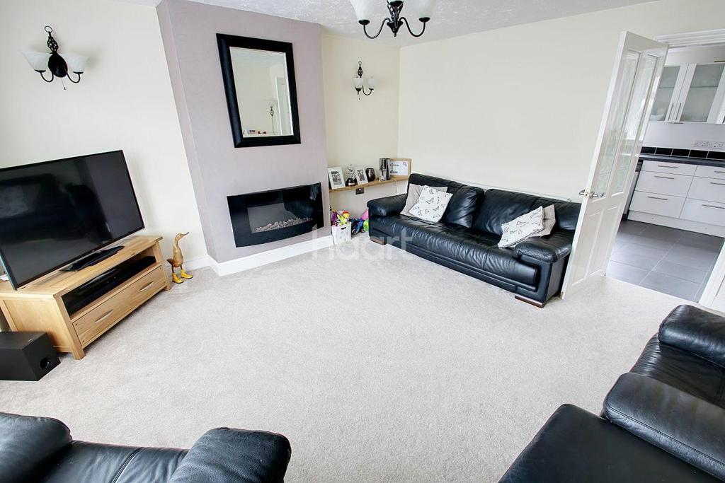 3 Bedrooms End Of Terrace House for sale in Scafell Way, Clifton, Nottinghamshire