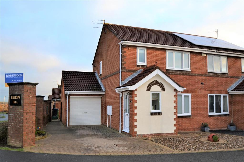 3 Bedrooms Semi Detached House for sale in Cragside Close, Spennymoor