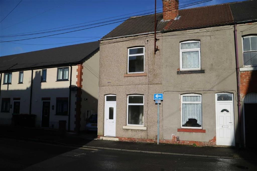2 Bedrooms End Of Terrace House for sale in Kingsley Street, Kirkby In Ashfield, Notts, NG17