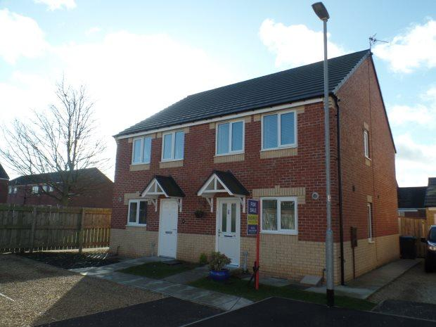 3 Bedrooms Semi Detached House for sale in DORMAND COURT, STATION TOWN, PETERLEE AREA VILLAGES