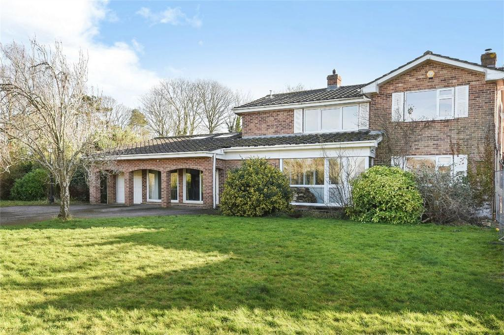 4 Bedrooms Detached House for sale in Chilbolton, Stockbridge, Hampshire