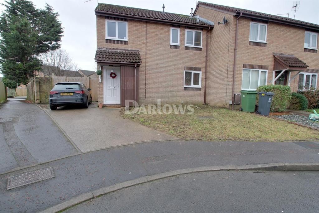 3 Bedrooms End Of Terrace House for sale in Verbena Close, St Mellons, Cardiff
