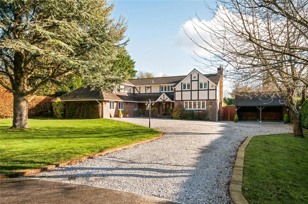 5 Bedrooms Detached House for sale in Field Way, Compton, Winchester, Hampshire, SO21