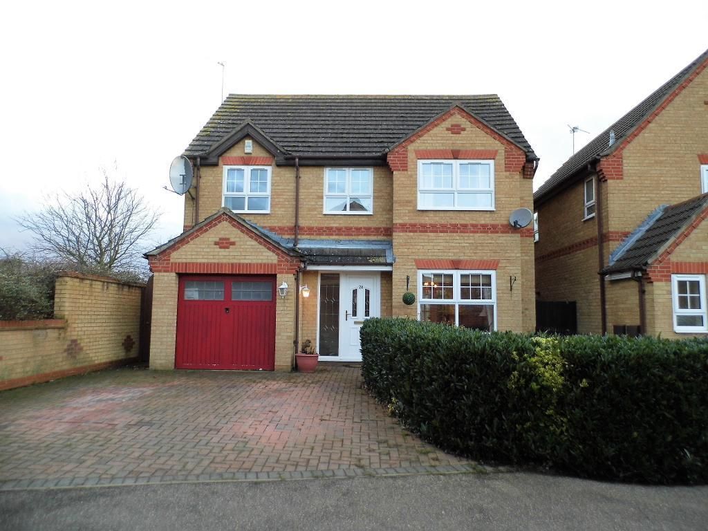 4 Bedrooms Detached House for sale in Tyler Way, Thrapston, Northamptonshire, NN14 4UE