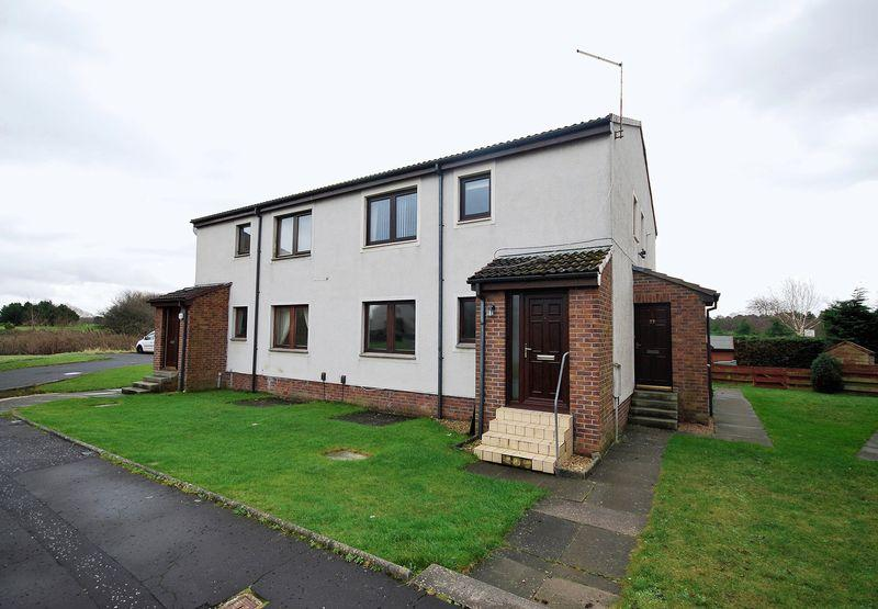 2 Bedrooms Ground Flat for sale in 77 Anderson Crescent, Prestwick, KA9 1EJ