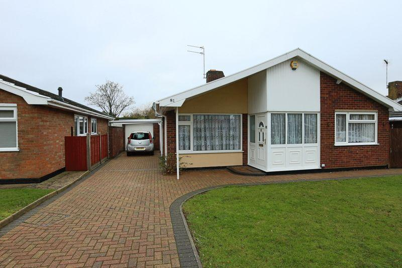 2 Bedrooms Detached Bungalow for sale in Westwood Avenue, Lowestoft