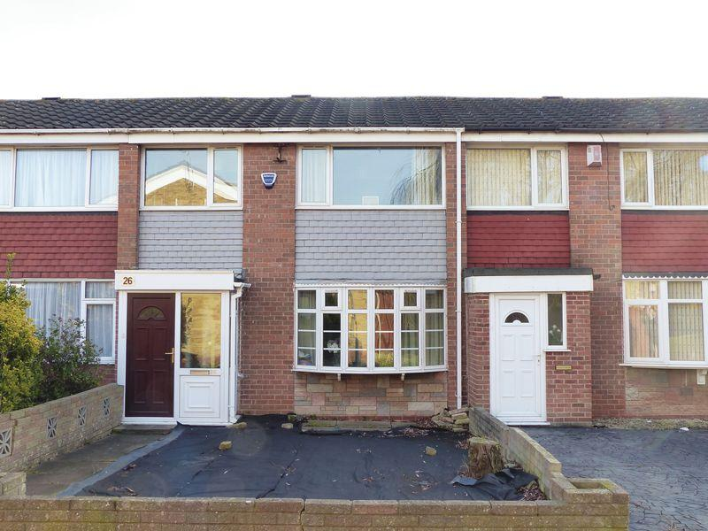 3 Bedrooms Terraced House for sale in Croy Drive, Birmingham