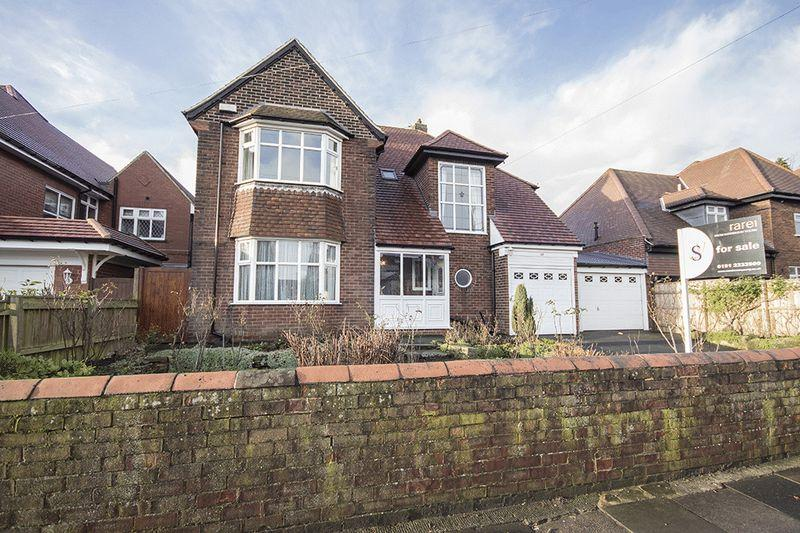 4 Bedrooms Detached House for sale in Kenton Road, Gosforth
