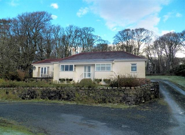 3 Bedrooms Detached Bungalow for sale in Cnoc Ard, Bridgend, Isle of Islay, PA44 7PQ