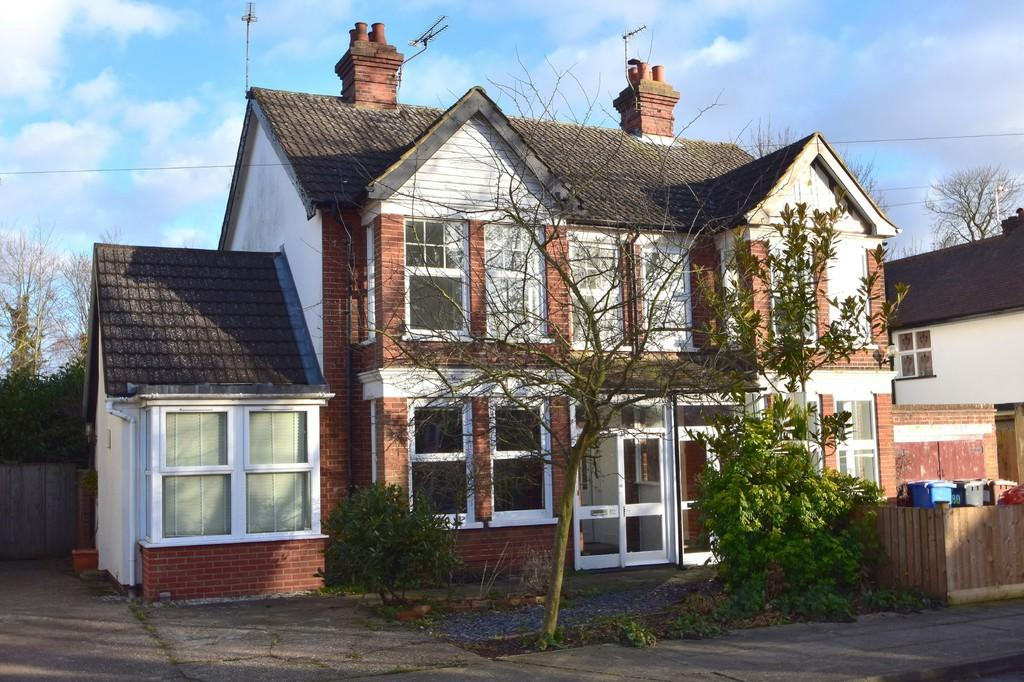 4 Bedrooms Semi Detached House for sale in Corder Road, Ipswich, IP4 2XB