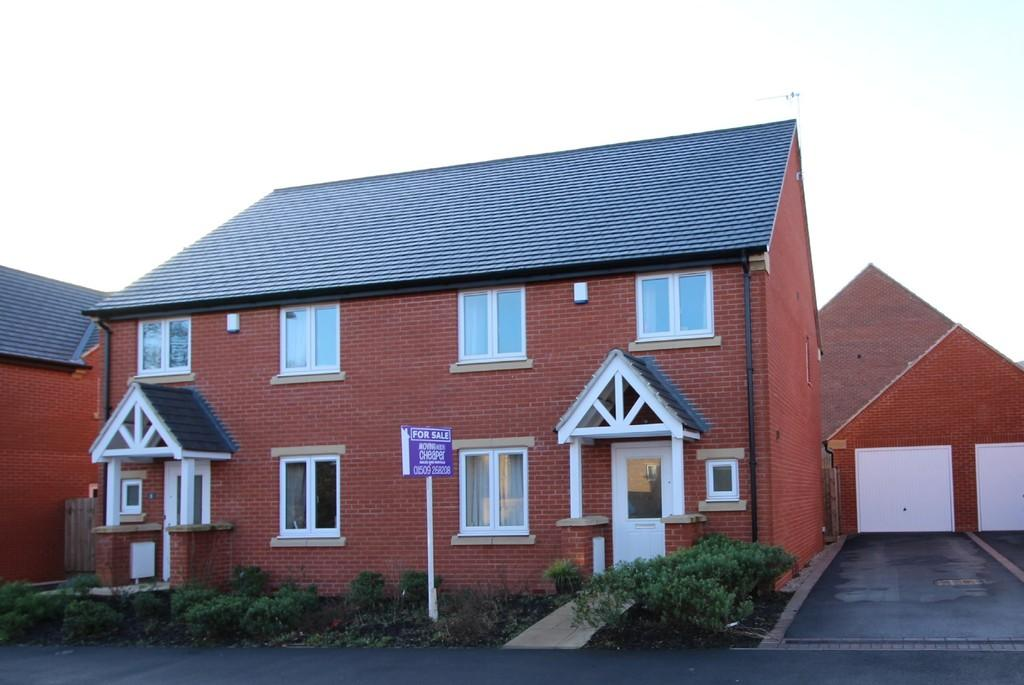 3 Bedrooms Semi Detached House for sale in Buttercup Lane, Shepshed