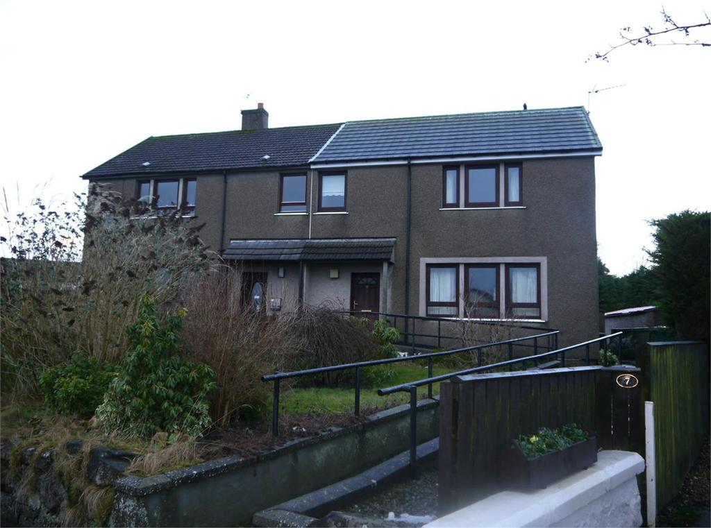 3 Bedrooms Semi Detached House for sale in 9 Bridgefauld Road, Milnathort, Kinross, Kinross-shire