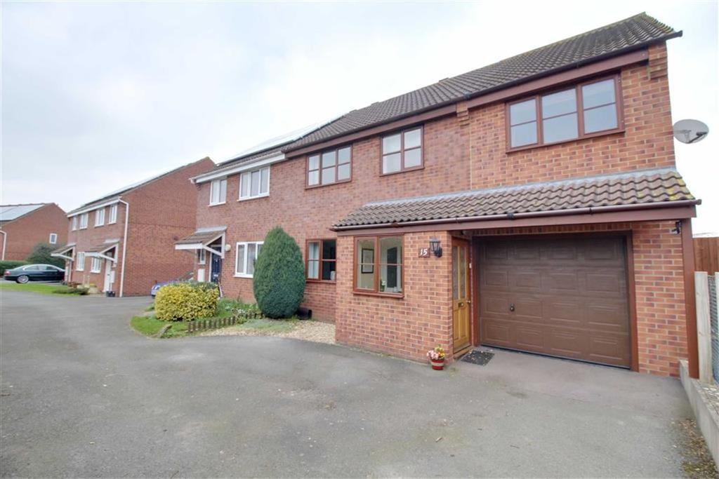 4 Bedrooms Semi Detached House for sale in Josend Crescent, Tirley, Gloucestershire