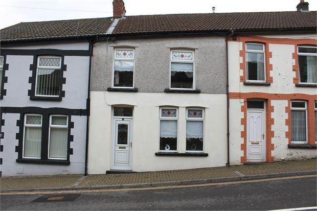3 Bedrooms Terraced House for sale in Oakdale terrace, Tonypandy, Rhondda Cynon Taff. CF40 1RN