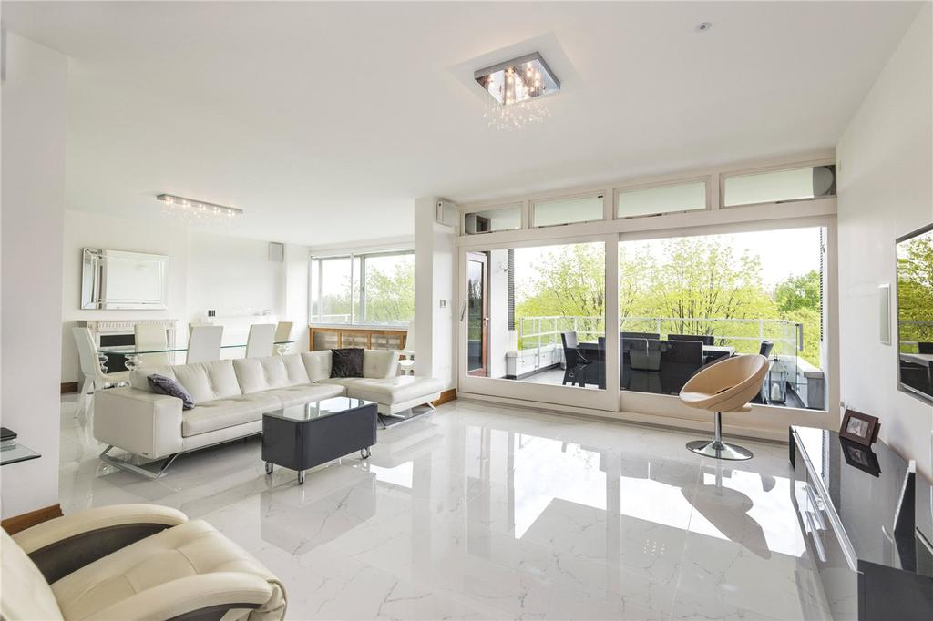3 Bedrooms Flat for sale in Imperial Court, Prince Albert Road, St John's Wood, London, NW8