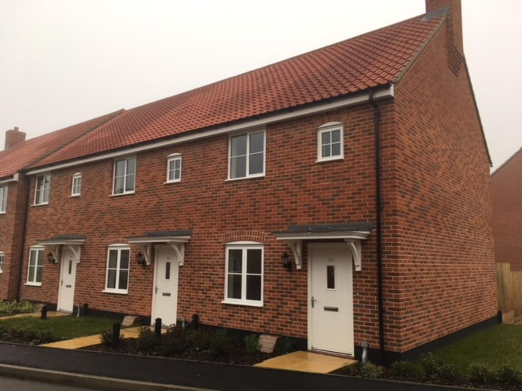 2 Bedrooms End Of Terrace House for sale in Avocet Rise, Sprowston, Norwich, Norfolk