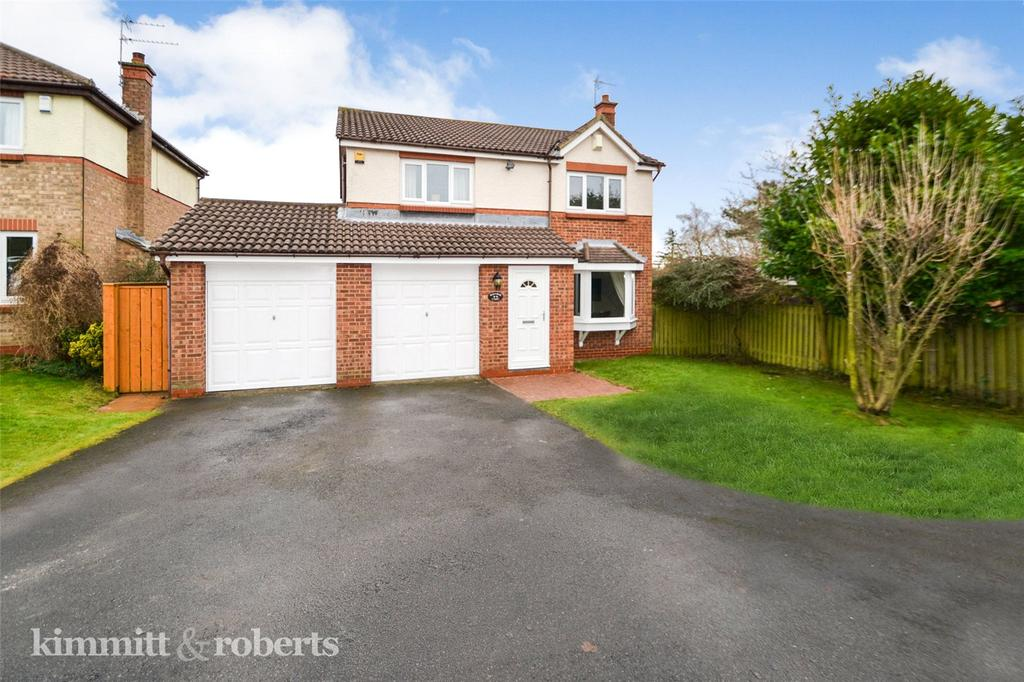 4 Bedrooms Detached House for sale in Rose Court, Peterlee, Co.Durham, SR8