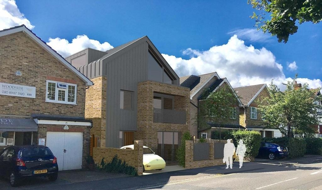 5 Bedrooms Plot Commercial for sale in Site with planning Woodside Wimbledon SW19